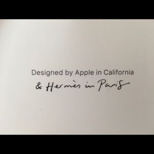 Apple Watch HERMÈS double Tour Deployment Buckle